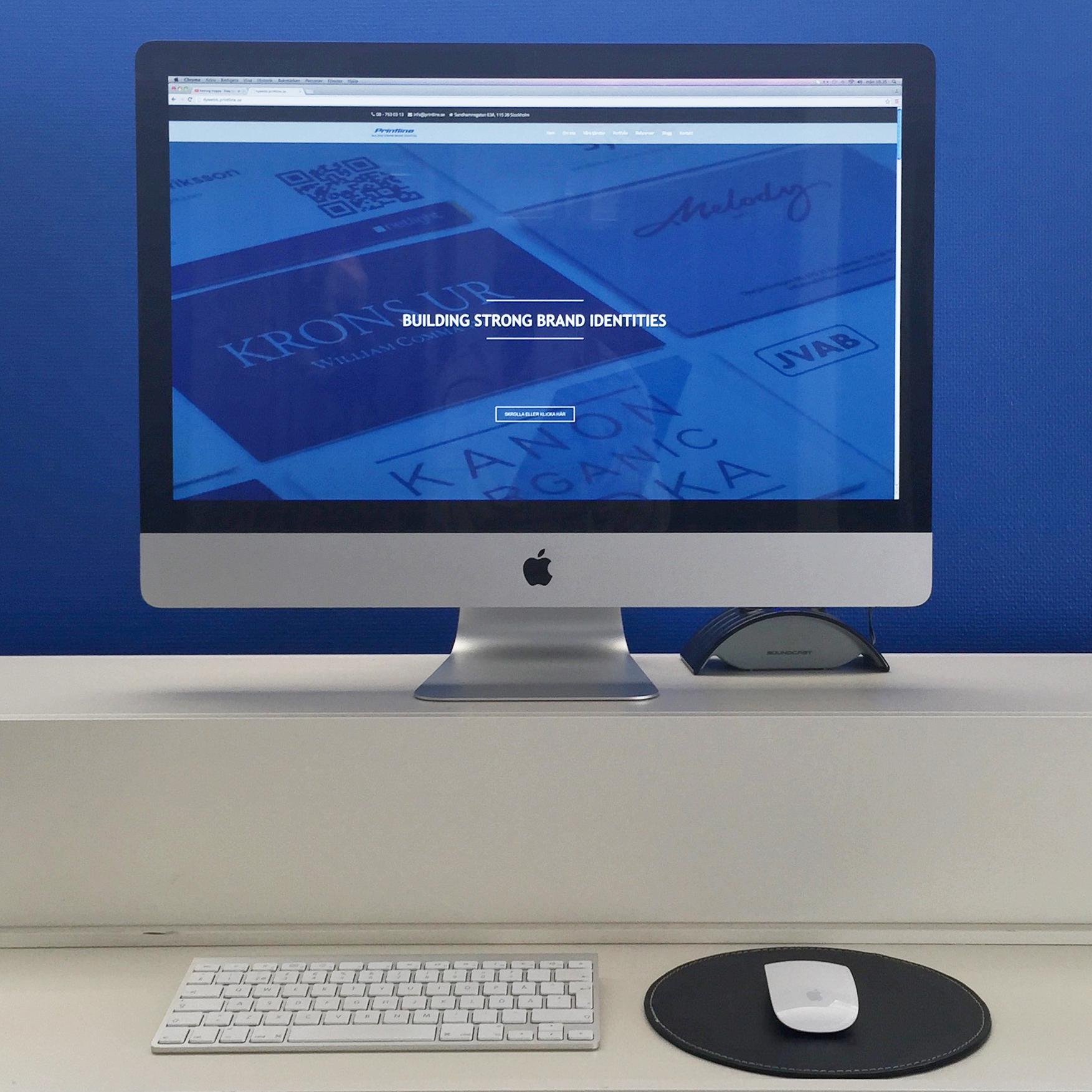Så tänkte vi när vi tog fram vår nya hemsida