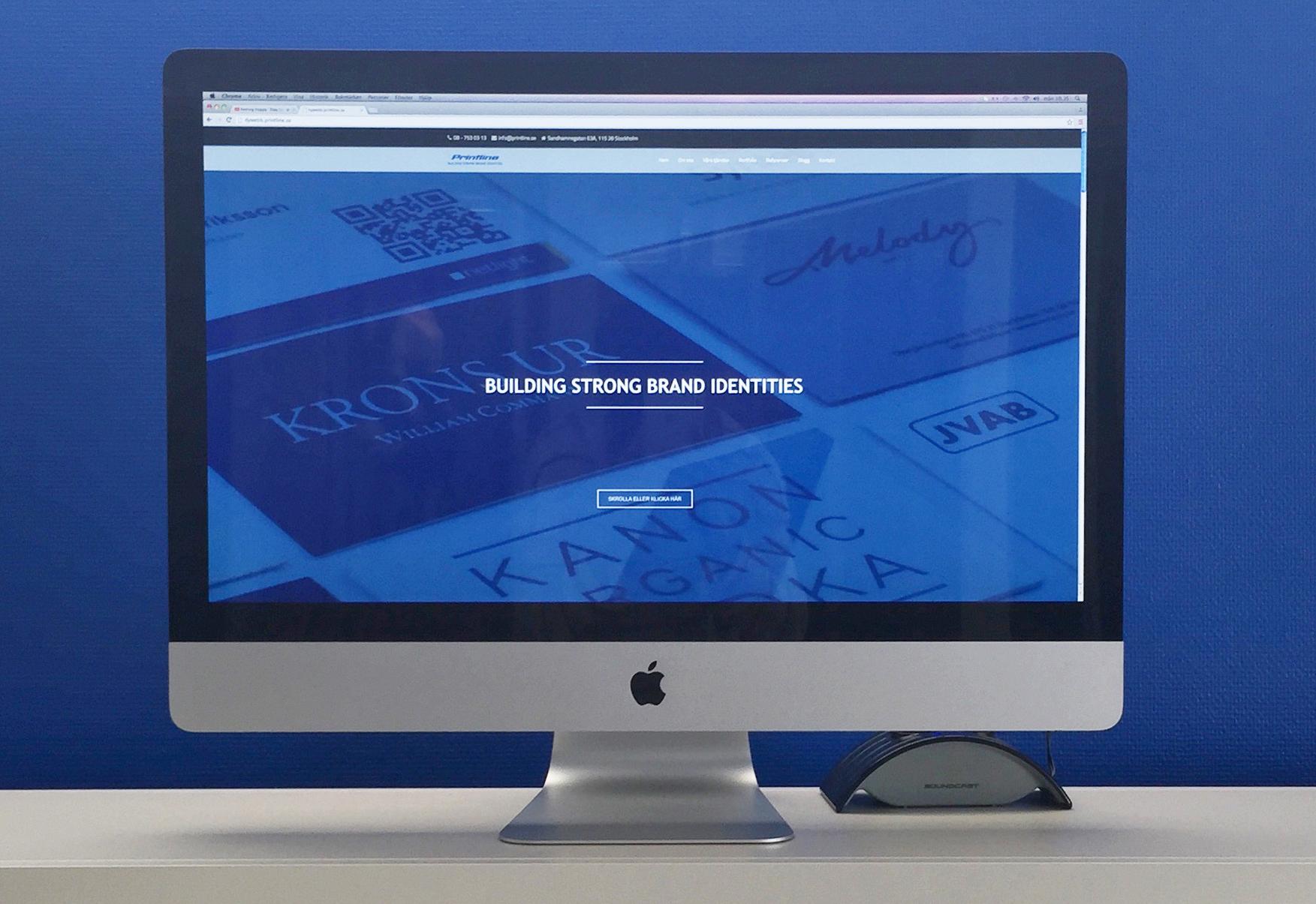 ny webbsida